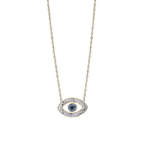 The prettiest eyes sparkle from the inside  - ketting in goud