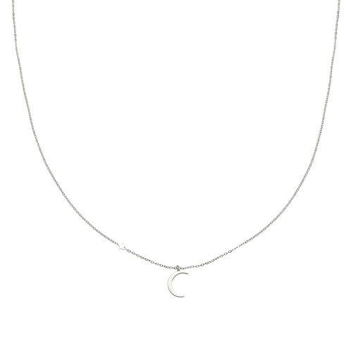 Moonlight - ketting in RVS zilver/goud