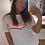 Thumbnail: 90'S BABY - t-shirt met print in roze/wit