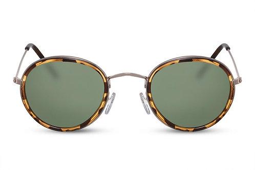 Ines - zonnebril (groen)