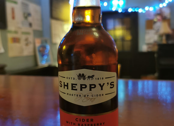 Sheppy's: Cider with Raspberries