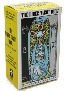 The Rider-Waite Tarot Dect - 細版塔羅牌 Miniature Edition