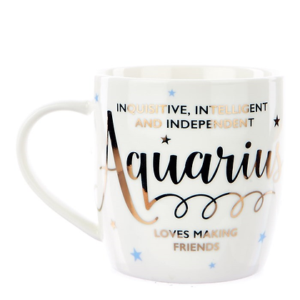 12星座之水瓶座杯 Aquarius Mug