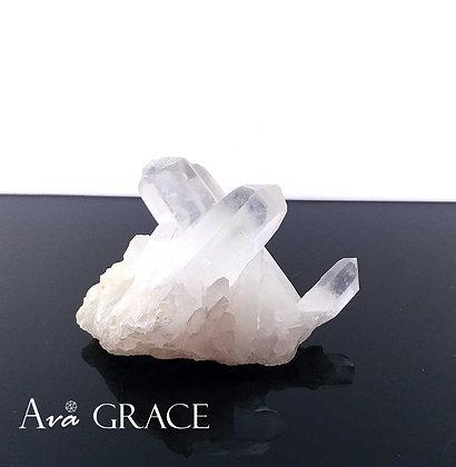 特選消磁淨化白水晶簇