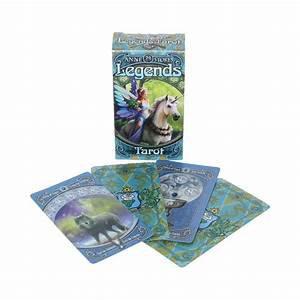 神秘傳奇塔羅牌 Legends Tarot Cards  by Anne Stokes