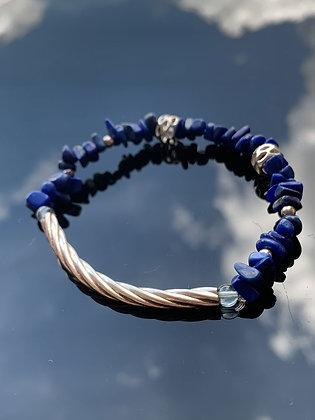 青金石碎石手鏈 Lapis Lazuli Bracelet