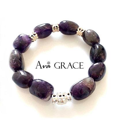 人緣紫水晶手鏈