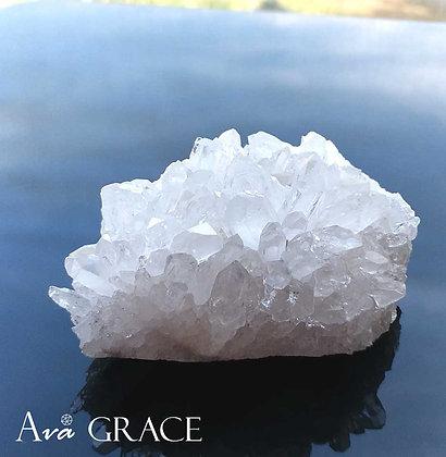 小型消磁白水晶簇