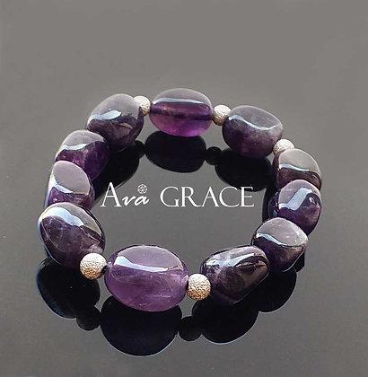 人緣之石紫水晶手鏈