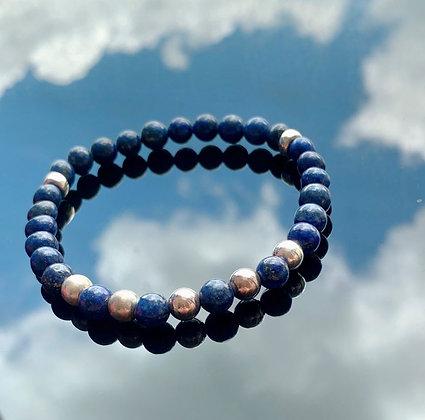 青金石手鏈 Lapis Lazuli Bracelet (0.6mm)