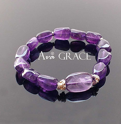 Amethyst 巴西紫水晶手鏈