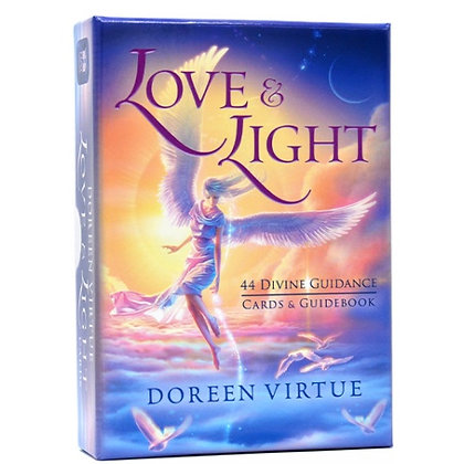 愛與光天使牌套裝 Love & Light Divine Guidance Cards & Book