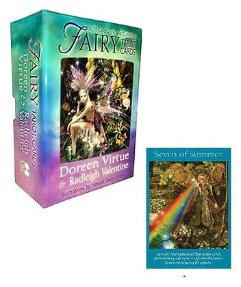仙子塔羅牌及說明書 Fairy Tarot Cards by Radleigh Valentine