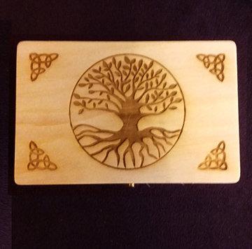 精緻塔羅牌木盒