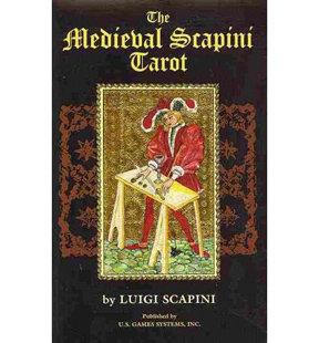 The Medieval Scapini Tarot 中世紀塔羅牌套裝