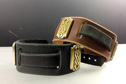 Celtic Knot Watchband/Bracelet (rectangular)