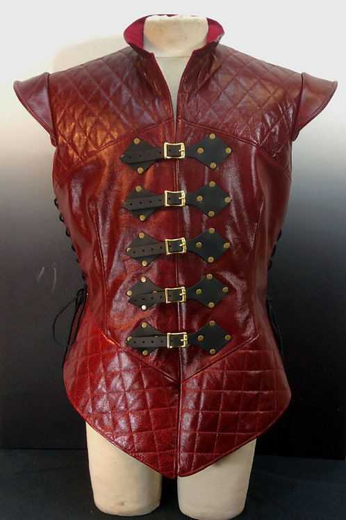 Noble Doublet-Quilted Leather