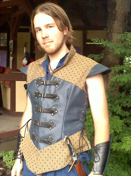 Noble Doublet-Cloth and Leather