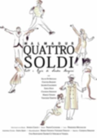 Locandina Quattro Soldi - Compagnia Malmadur