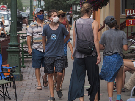 Colorado limits gatherings to 10 people from no more than two households as coronavirus spike contin