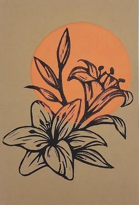 Orange Tigerlilies