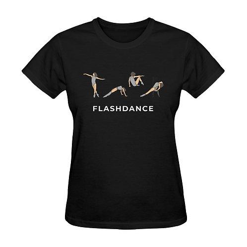 Camiseta negra Flashdance