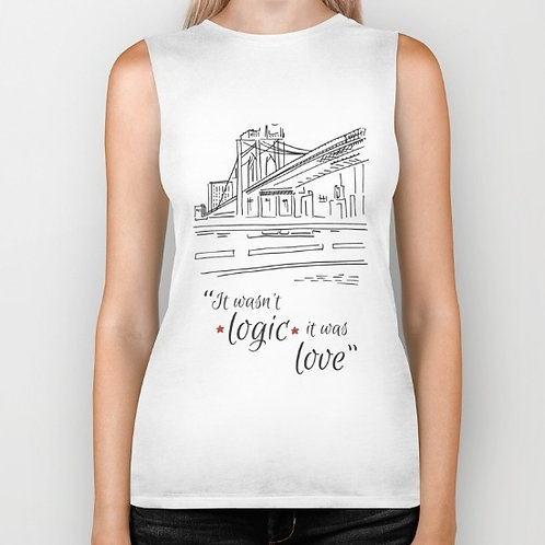 "Camiseta sin mangas ""Love"""