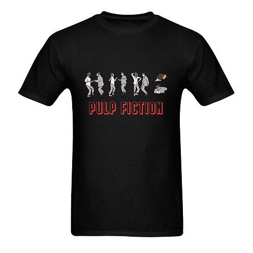 Camiseta negra Pulp Fiction