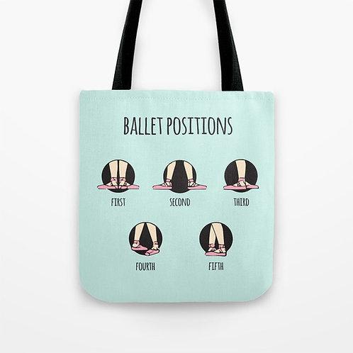 """Bolso """"Ballet positions"""" Azul"""