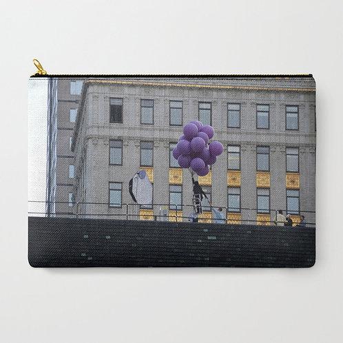 """Cartera """"Purple Balloons"""""""