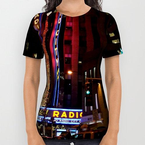 "Camiseta de manga corta ""Radio City Music Hall"""
