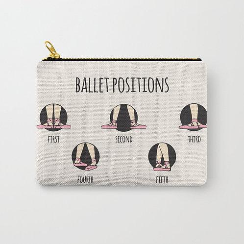 """Cartera """"Ballet positions"""" pequeña"""