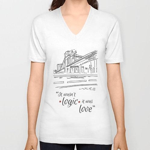 "Camiseta de manga corta ""Love"""