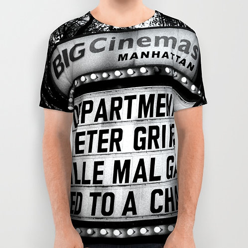 "Camiseta de manga corta ""Big Cinemas Manhattan"""
