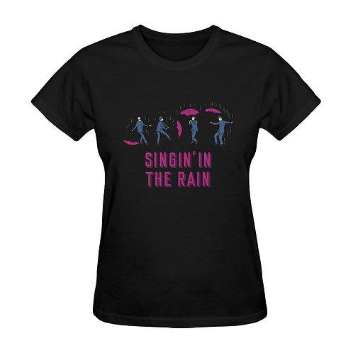 Camiseta negra Singin' in the rain