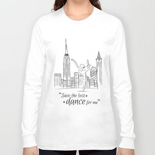 "Camiseta de manga larga ""Save the last dance"""