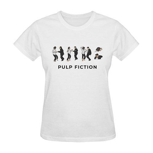 Camiseta blanca Pulp Fiction