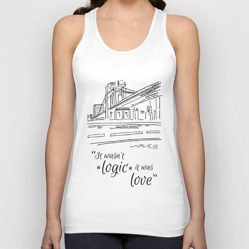 """Camiseta de tirantes """"Love"""""""