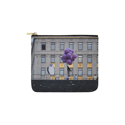 Monedero Purple Balloons