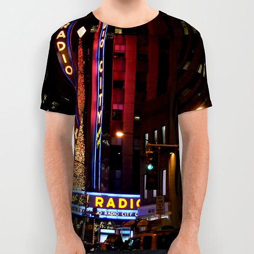 "Camiseta de manga corta ""Radio City Music Hall"""