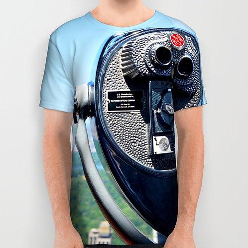 "Camiseta de manga corta ""Observer"""