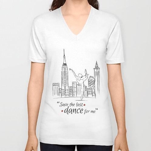 "Camiseta de manga corta ""Save the last dance"""