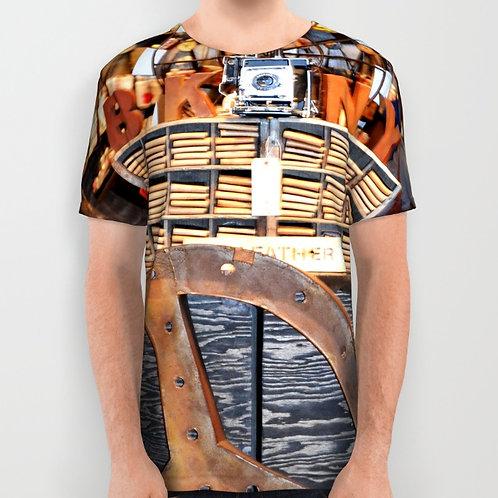 """Camiseta de manga corta """"BK&NY"""""""