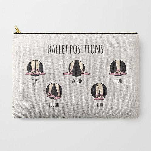 "Cartera ""Ballet positions"" grande"