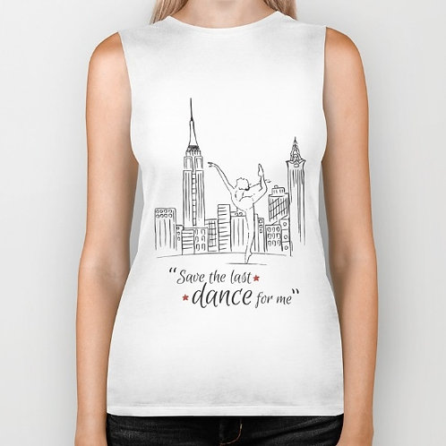 "Camiseta sin mangas ""Save the last dance"""