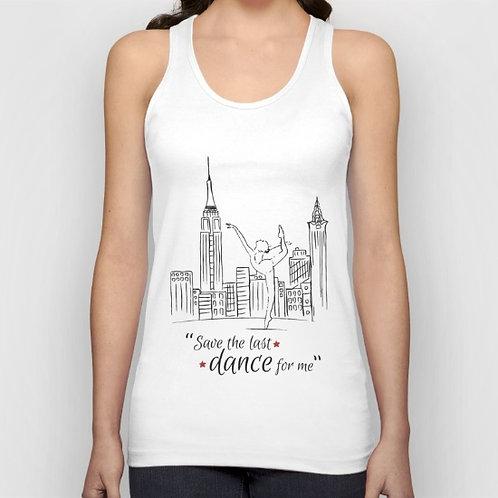 "Camiseta de tirantes ""Save the last dance"""
