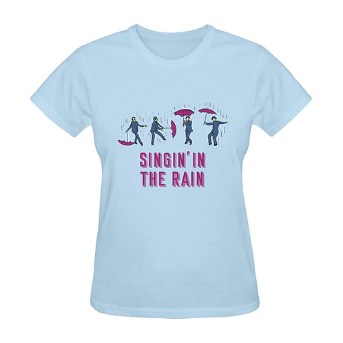 Camiseta azul Singin' in the rain