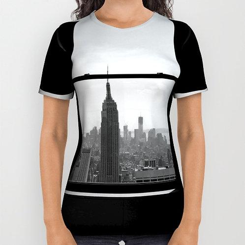 """Camiseta de manga corta """"NY window"""""""