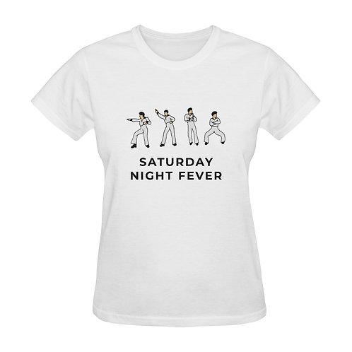 Camiseta blanca Saturday Night Fever
