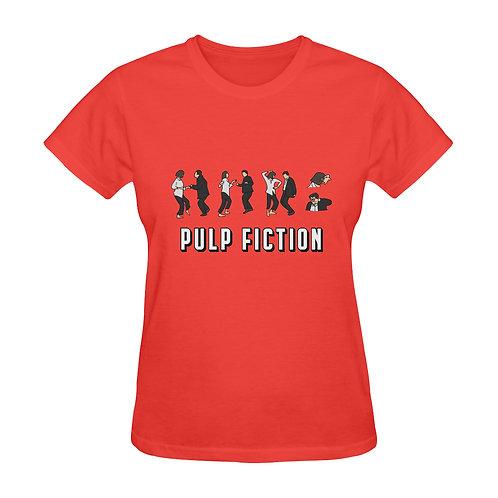 Camiseta roja Pulp Fiction